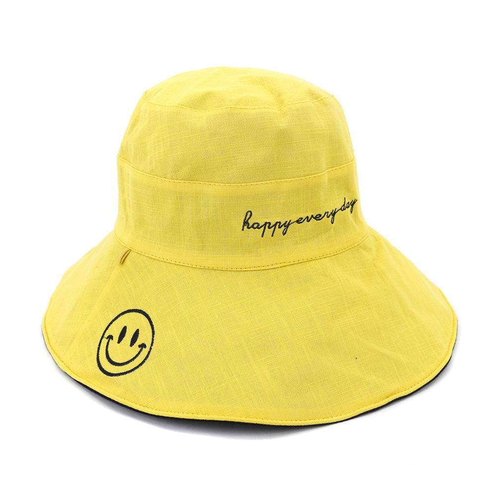 激安☆春夏 男女兼用 旅行◆UV対策帽子◆バケットハット◆サンバイザー◆小顔 つば広 56-58cm