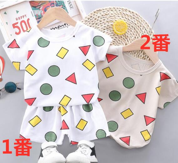 2020年夏新作★キッズセットアップ★男の子/女の子★Tシャツ+パンツ★80-110