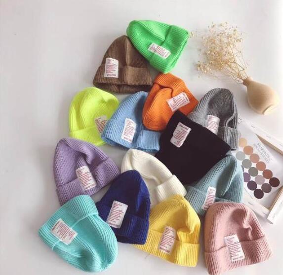 2020年新品★新しいスタイル★★キッズ 可愛いハット ニット帽子&マフラー 分けて販売★11色
