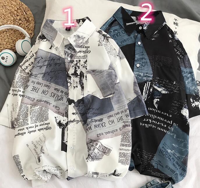 2020年新作★メンズTシャツ★ストライプ★半袖 2色