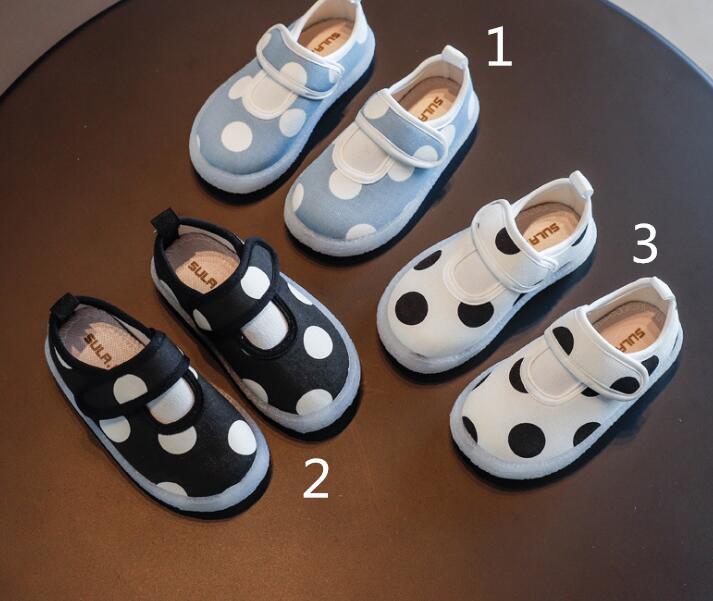 2020年初秋新作【子供靴】★可愛い靴★キッズ靴★ブーツ★単靴★水玉★女の子★3色21-36