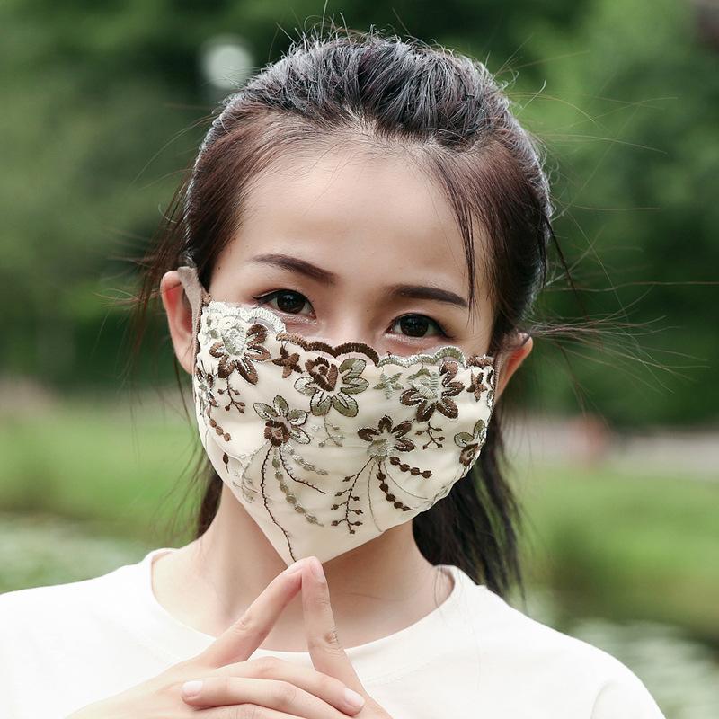 レースマスク★立体マスク★飛沫防止★花粉 ★呼吸がしやすい★大人用マスク