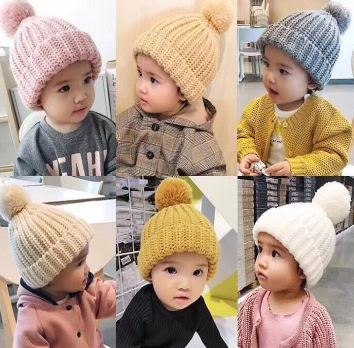 2020年秋冬新作★アイテム★レジャー★子供帽子★キッズ帽子★男女兼用★ニット帽子★12色1-8歳