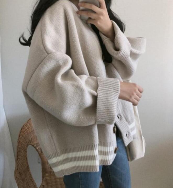 2020人気アイテム★カーディガン★ニット★セーター★厚手★レデイースファッション★2色★フリー