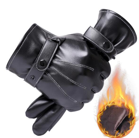 2020年新作★寒い冬★手袋★アウトドアスポーツ用★タッチパネル手袋★防寒★厚さ★保温★皮