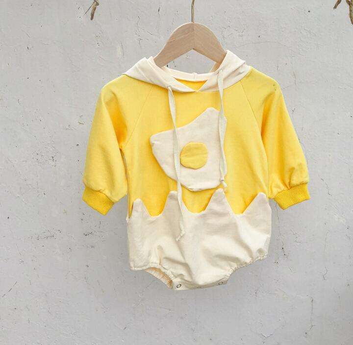 2020年秋冬新作★ロンパース★オールインワン★黄色い★連体服★子供服★66-100