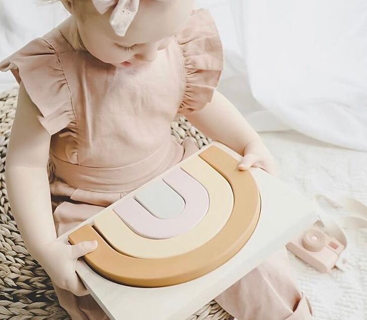 子供用品★知育玩具★おもちゃ・ホビー★3D立体積み木 嵌め絵 遊びもの 木製★