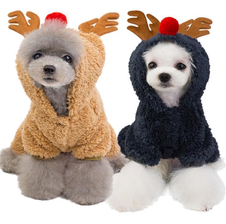 秋冬新品★クリスマス★コート★ペット用品★ペット向け★ペット服★愛犬大変身★2色★S-2XL
