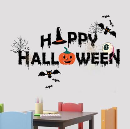 新作★お買い得★DIY壁紙★壁ステッカー★貼り紙★壁装飾★happy halloween