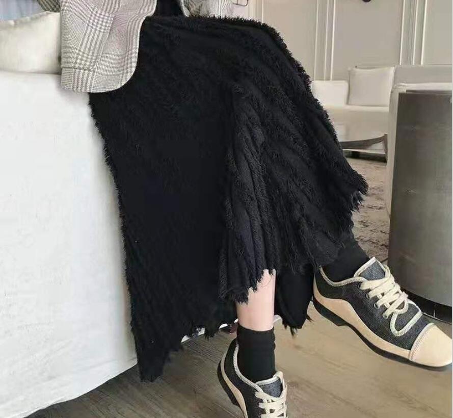 新作/爆買いセール/ハイウエスト/スカート/素敵なデザイン/ロングスカート