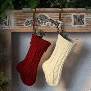 新作★クリスマス用品★靴下★装飾用品  37CM