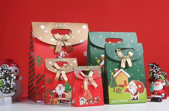 【クリスマス】包装資材★ギフトバッグ★贈り物★プレゼントに最適★紙袋★ハトロン紙★ラッピング★