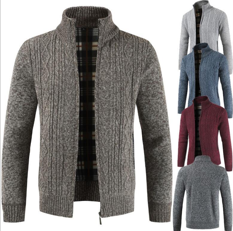 秋冬新作/メンズコート/メンズ外套/長袖トップス/ニット外套/メンズ上着