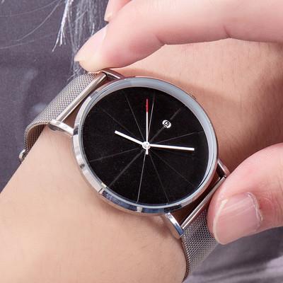 メンズ★ファッション時計★ウォッチ★腕時計★メタルバンド★クォーツ★簡約