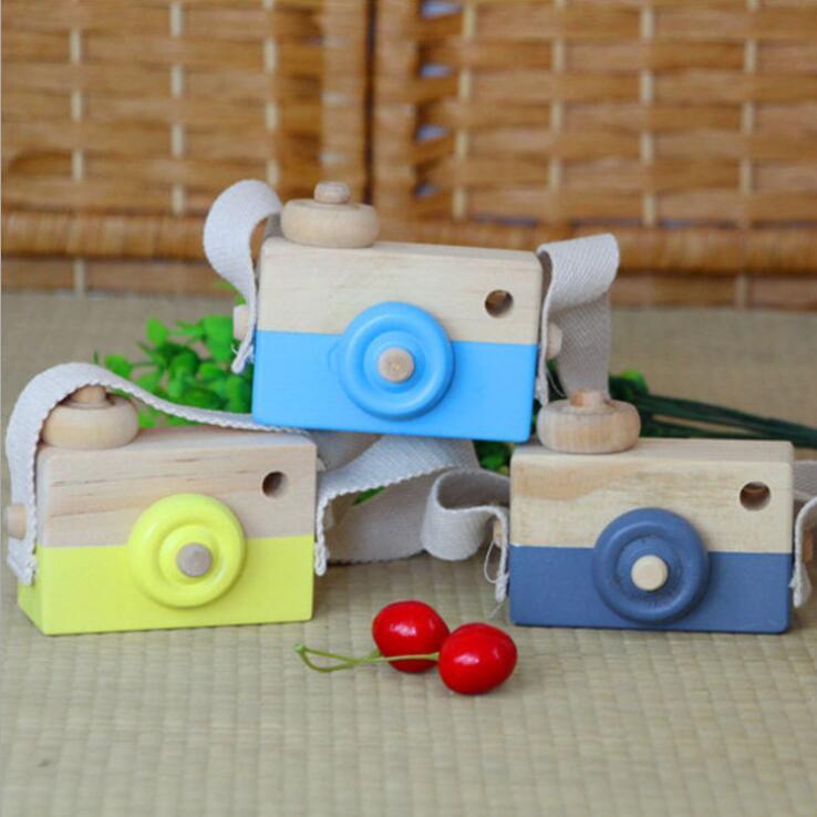 新作★大人気★子供知育玩具★木製カメラおもちゃ・ホビー★赤ちゃん用遊びもの★