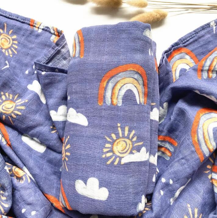 新型★ベビー赤ちゃん バスローブ 毛布★120cm*120cm★吸水性抜群バスタオル★