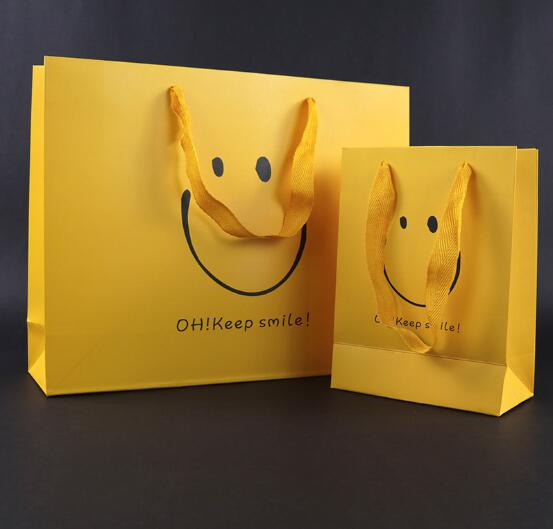 【業務用】包装資材★紙袋★お土産袋★クラフト紙袋★ハトロン紙袋★ギフトバック★手提げ紙袋★笑顔
