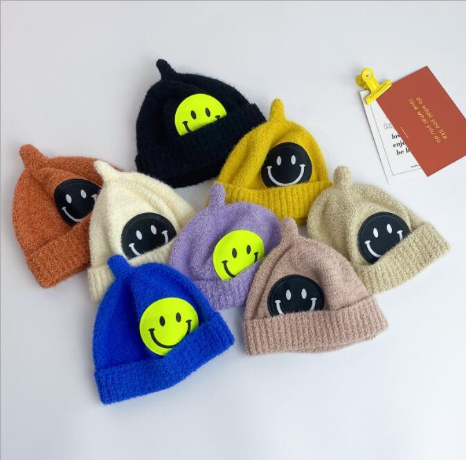 2021秋冬新作★大人気★子供用帽子★可愛いハット★ニット帽子★暖かい帽子