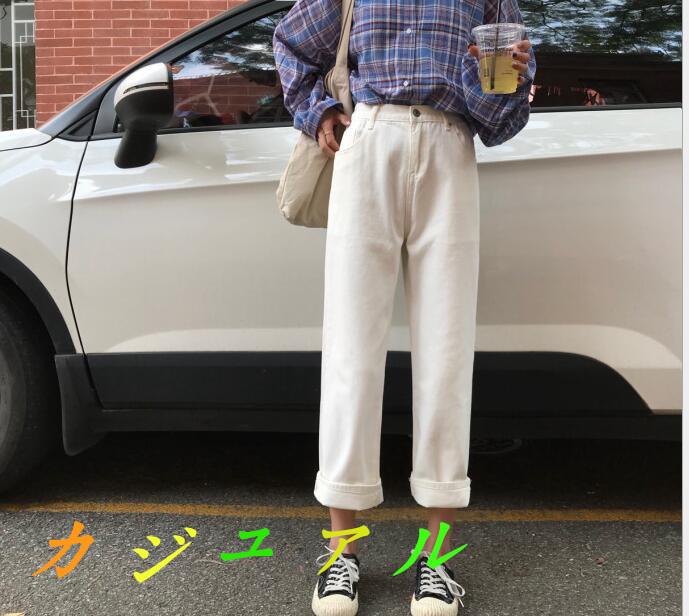 レディースズボン・ジーンズ・夏新作・ワイドパンツ・復古・流行・デニムパンツ