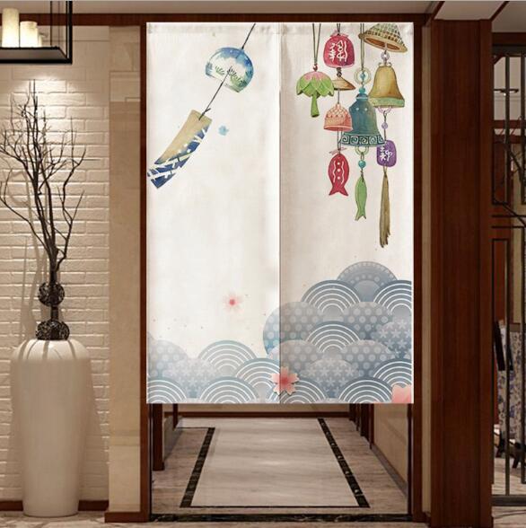 人気商品★カーテン★のれん★縁起の良い 暖簾★福を呼ぶ★インテリア装飾★5色★3サイズ選べる