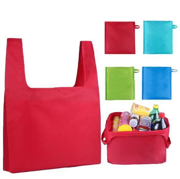 業務用★包装資材★エコバッグ★買い物 袋★撥水加工★バッグ★折り畳み 収納袋★手提げ袋★10色