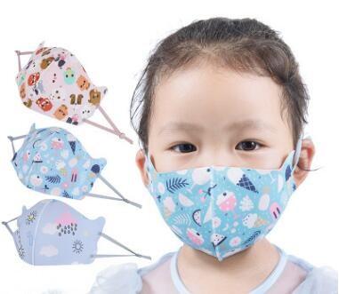 子供用マスク★可愛い絵柄★日焼け対策★ UV対策★ 防塵 ★防花粉★通気性★水洗★4色