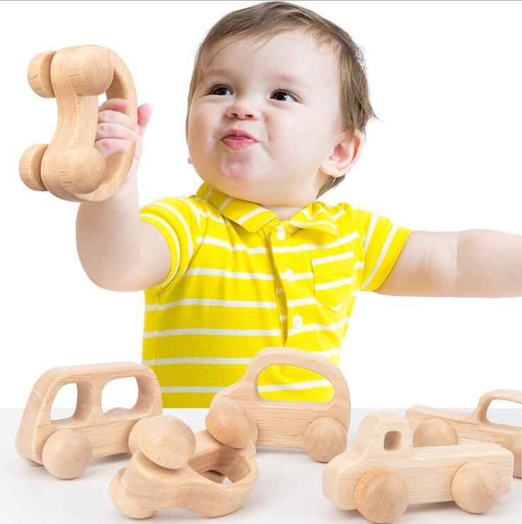 子供用品★知育玩具★おもちゃ・ホビー★木製クルマ 遊びもの★