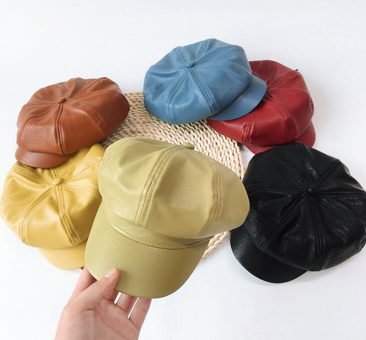 2020秋冬新作★子供帽子★キャップ★暖かい★ベレー帽★女の子★キッズ帽子★男の子★防寒★6色