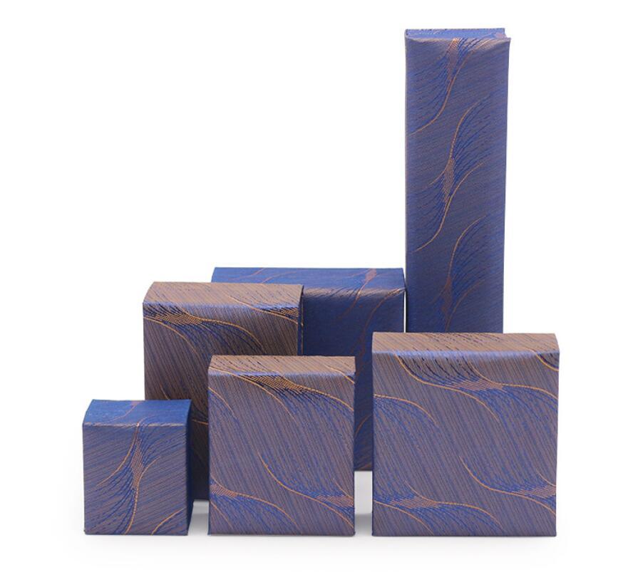 小物入れ ピアス&ブレスレット&ネックレスの紙箱 ギフトボックス  包装ボックス