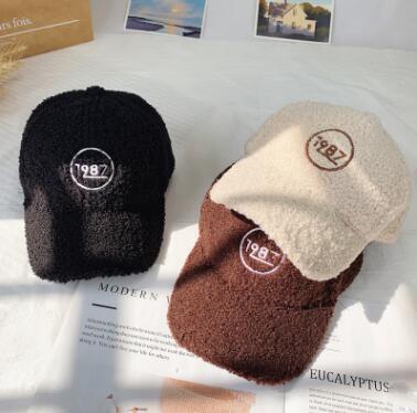 新入荷★秋冬 帽子 可愛いキャップ★ふわふわ★3色