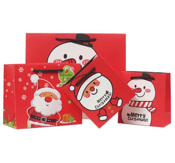 【クリスマス限定】包装資材★ギフトバッグ★贈り物★プレゼントに最適★紙袋★ハトロン紙★ラッピング★