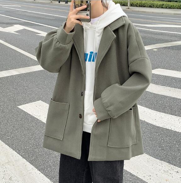 2021年新作★メンズ★トップス★長袖★コート★かっこいい★カジュアル★韓国風★M-XXL