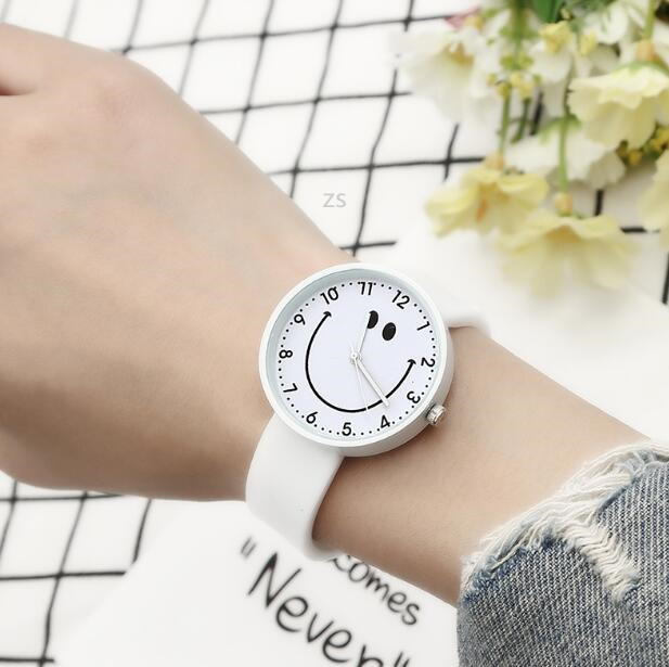 キャンデー色★腕時計★笑顔★時計★男女兼用★ファッション★5色