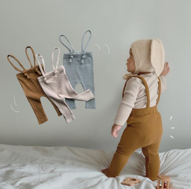 2021年春新作★子供ズボン★サロペット★子供レギンス★韓国子供服★キッズ★ベビー★3色66-90