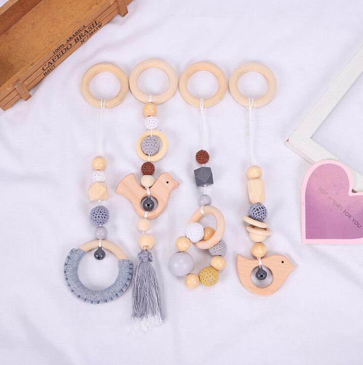 新作★大人気★子供知育玩具★可愛い木製おもちゃ・ホビー★赤ちゃん用遊びもの★4点セット