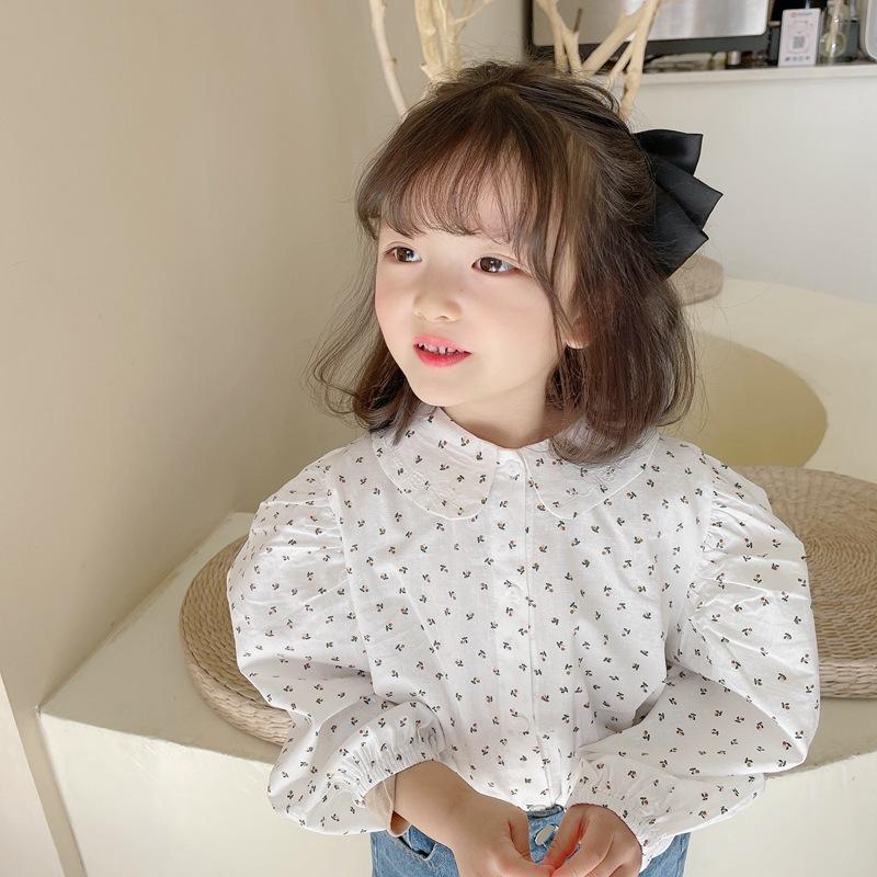 【2021新作】★♪上着★♪女の子ファッション★♪花柄★♪長袖★♪子供服★♪可愛いシャツ★♪