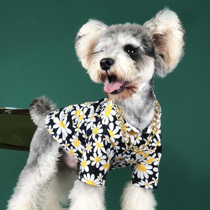 2021夏新品★ペット用品★ペット向け★ペット服★シャツ★ファッション★犬服★2色★M-XL