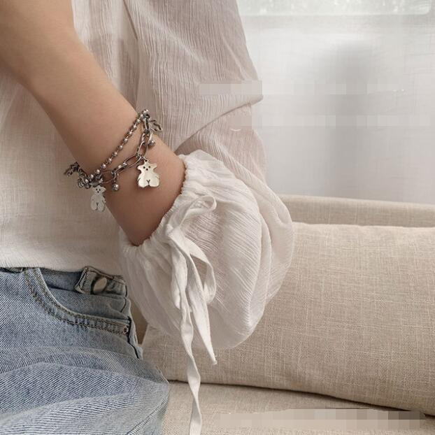 2021新品★大人気飾り★チェーンブレスレット★個性アクセサリー★ファッション腕飾り