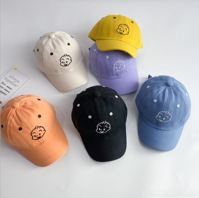 2021新作帽子★キッズ帽子★男女通用ハット★子供用キャスケット★日除け帽★野球帽★
