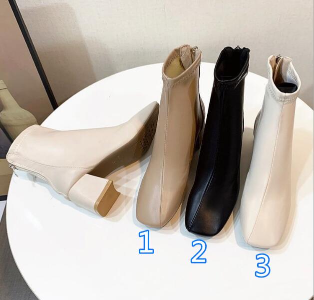 2021★秋冬新作★マーティン靴★レディース★ハイヒール★シューズ★ファッション★3色35-40