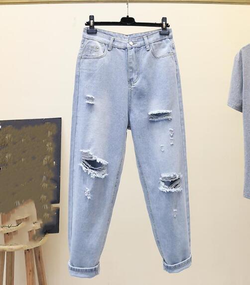 2020★夏新品★ファッション★破れジーンズ★ロングズボン★カジュアル★パンツ★薄手★S-2XL