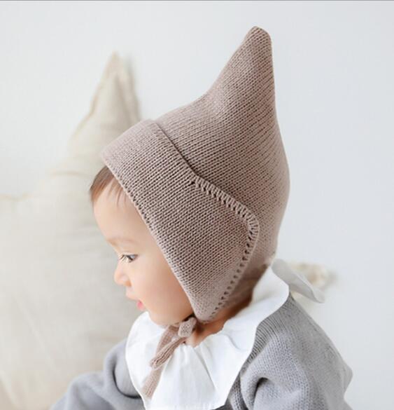 2020年新作★同梱でお買得★子供向け帽子★秋冬可愛い帽子★毛系★ニット帽子★2色