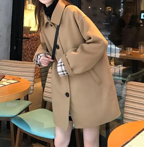 2020★秋冬新作★ファッション★コート★外套★上着★長袖★2色S-XL