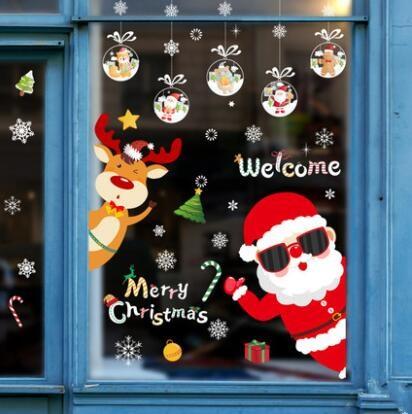 新作★お買い得★クリスマス★DIY壁紙★壁ステッカー★貼り紙★壁装飾★60*45CM