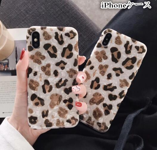 iPhoneケース★iPhone11 11pro 11proMAX X XR XSMax★スマホケース★豹柄★保護ケース