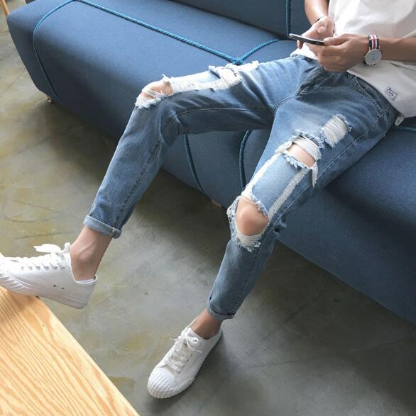 2020年新作★ファッション★メンズ★カジュアル★パンツ★ジーンズ ★デニム★タイト修身★28-34