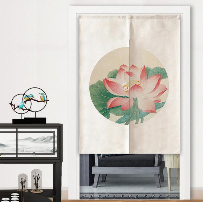 人気商品 ★ カーテン ★ のれん ★縁起の良い 暖簾★ インテリア装飾★8色3サイズ選べる