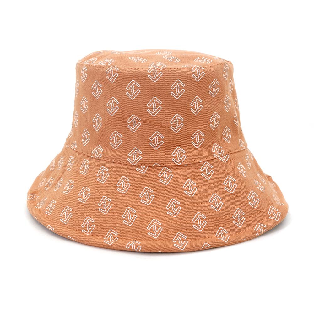 激安☆ins春夏 男女兼用 旅行◆UV対策帽子◆バケットハット◆サンバイザー◆小顔 つば広 幾何学柄56-58cm