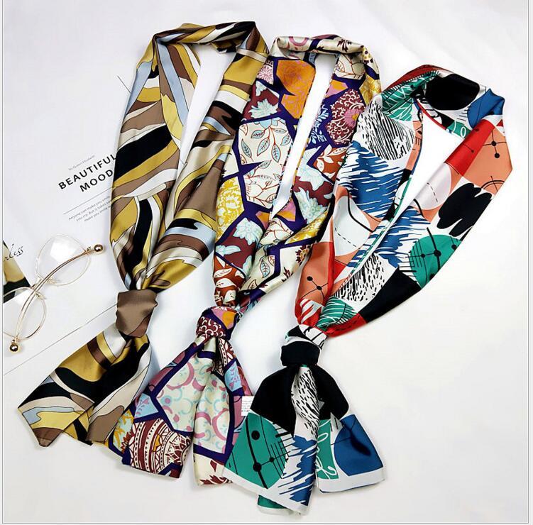 人気♪人造シルク★ファッション★スカーフ★レディース用★高貴ぽい★OL風★エレガント