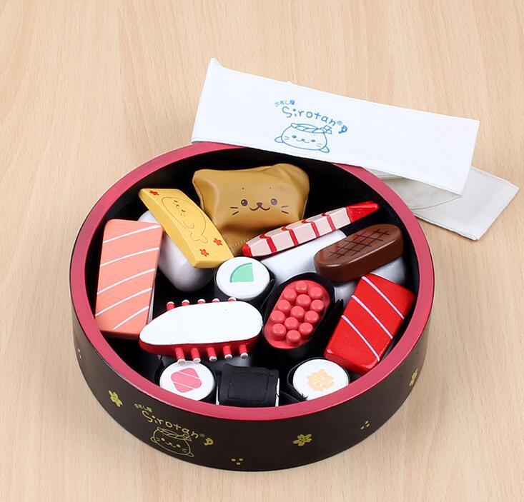 子供用品★知育玩具★おもちゃ・ホビー★遊びもの 木製偽寿司★